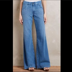 🆕👀 NWT AG JEANS Wide Leg Carly